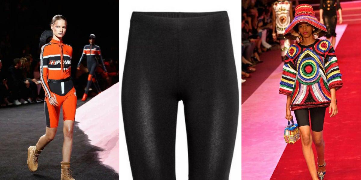 Pantalones de ciclista, la última moda