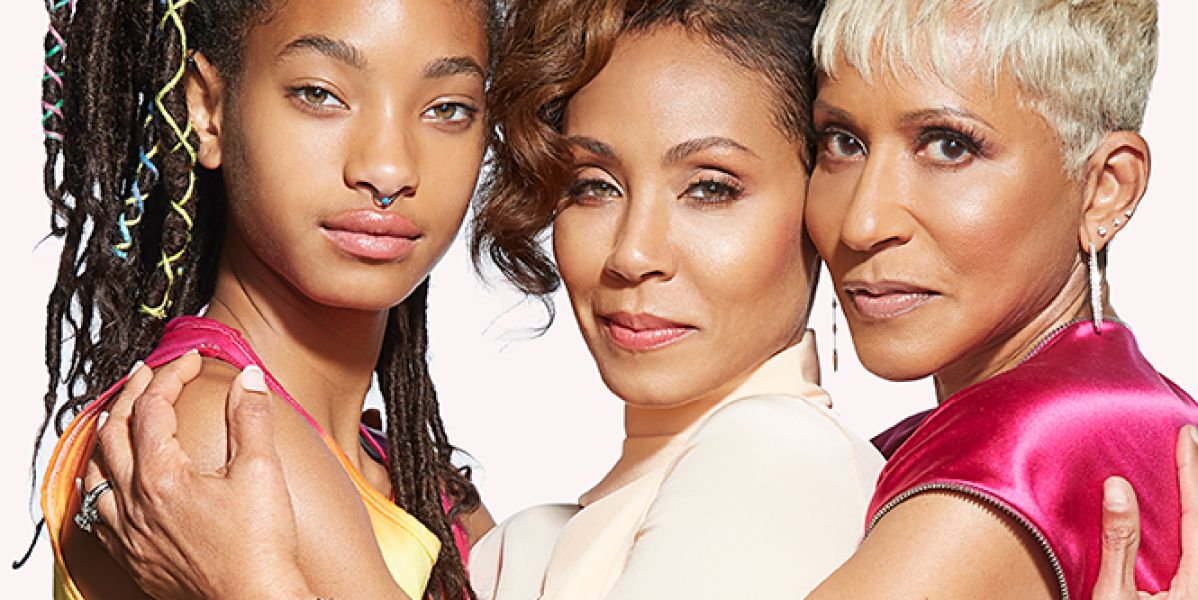 Willow Smith, Jada Pinkett Smith y Adrienne Banfield-Jones