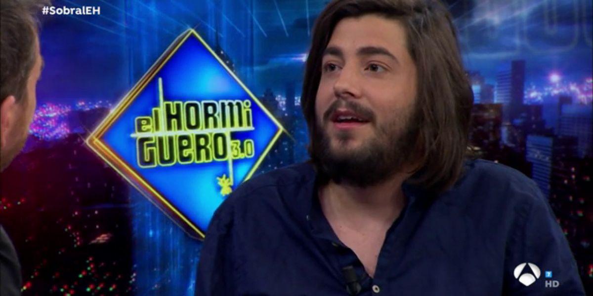 """Salvador Sobral, en 'El Hormiguero 3.0': """"La fama no la veo como un objetivo, sino como una consecuencia"""""""