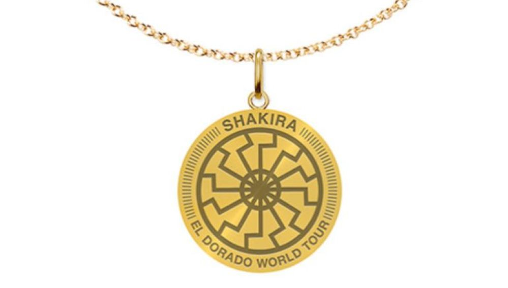 El collar que vende Shakira