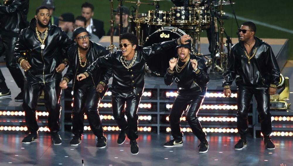 Imagen de archivo de un concierto de Bruno Mars