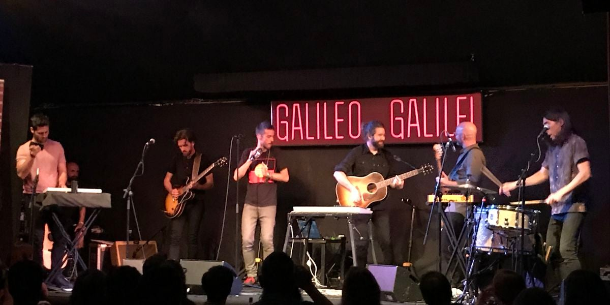 Vetusta Morla en la Sala Galileo Galilei