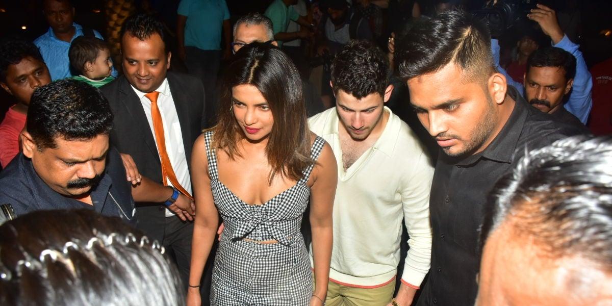 Nick Jonas llega a la India para conocer a los padres de Priyanka Chopra