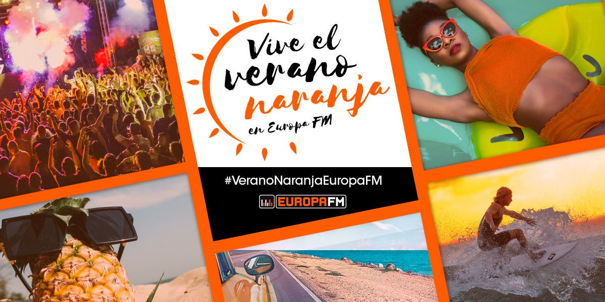 ¡Vive el verano naranja en Europa FM!