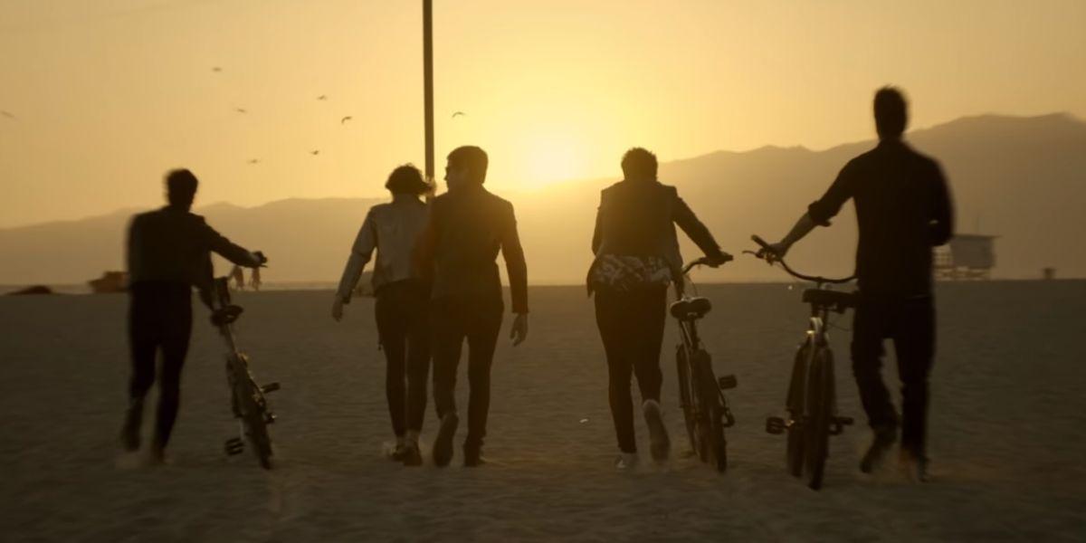 Dorian en el videoclip de 'Algunos Amigos'