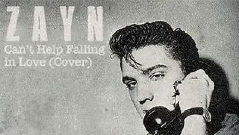 Zayn versiona 'Can't Help Falling in Love' de Elvis Presley