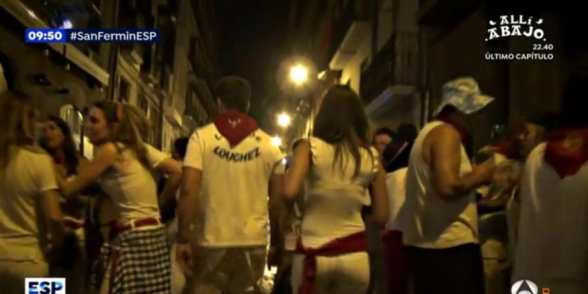 Espejo Público (09-07-18) Una reportera de Espejo Público, víctima de tocamientos y comentarios sobre su físico en San Fermín