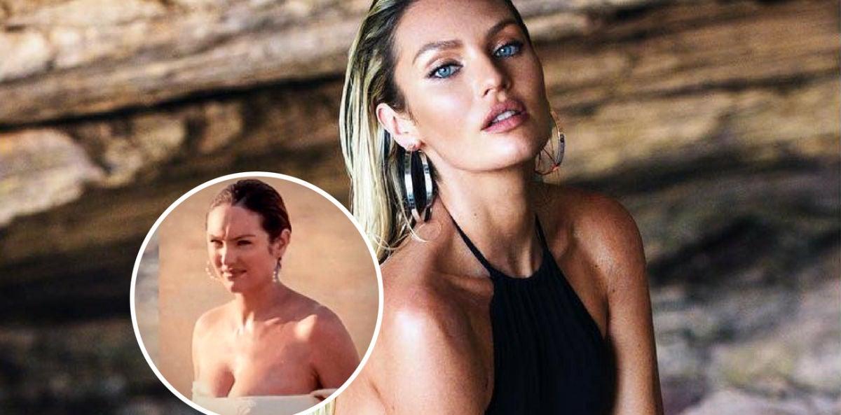 La modelo Candice Swanepoel de Victoria's Secret