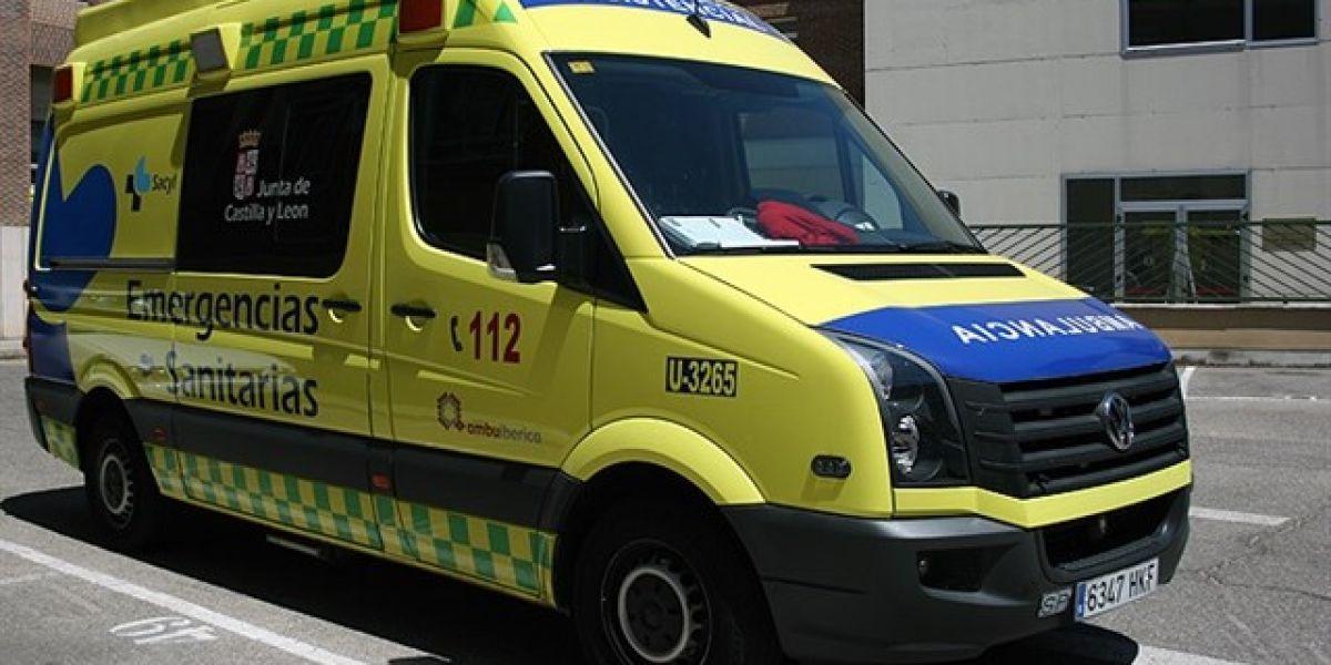 Ambulancia del 112 CyL