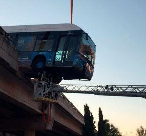 El autobús lanzadera del Mad Cool accidentado
