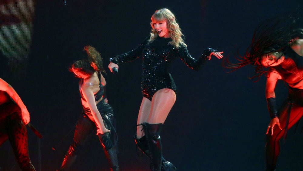 Taylor Swift en 'ReputationTour'