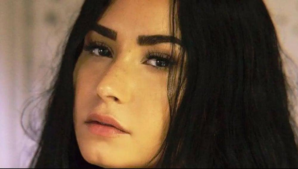 Demi Lovato en el vídeo de 'Sober'
