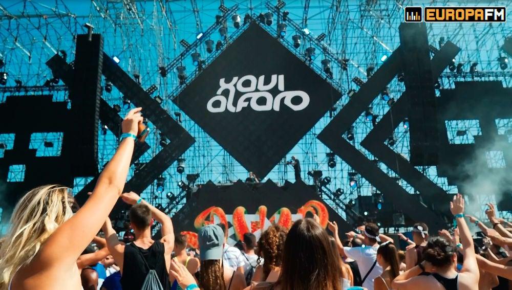 Sesión de Xavi Alfaro en el Barcelona Beach Festival