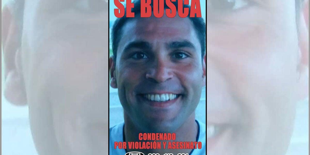 Imagen actual del preso fugado de la prisión de El Dueso, Santoña