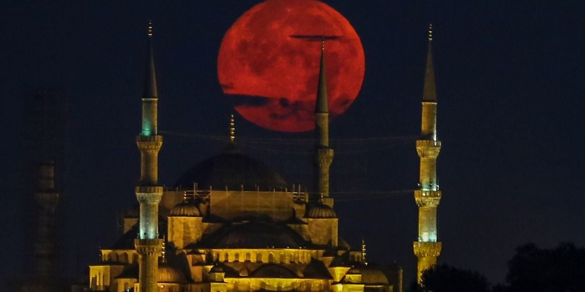 Luna roja sobre Estambul (27-07-2018)