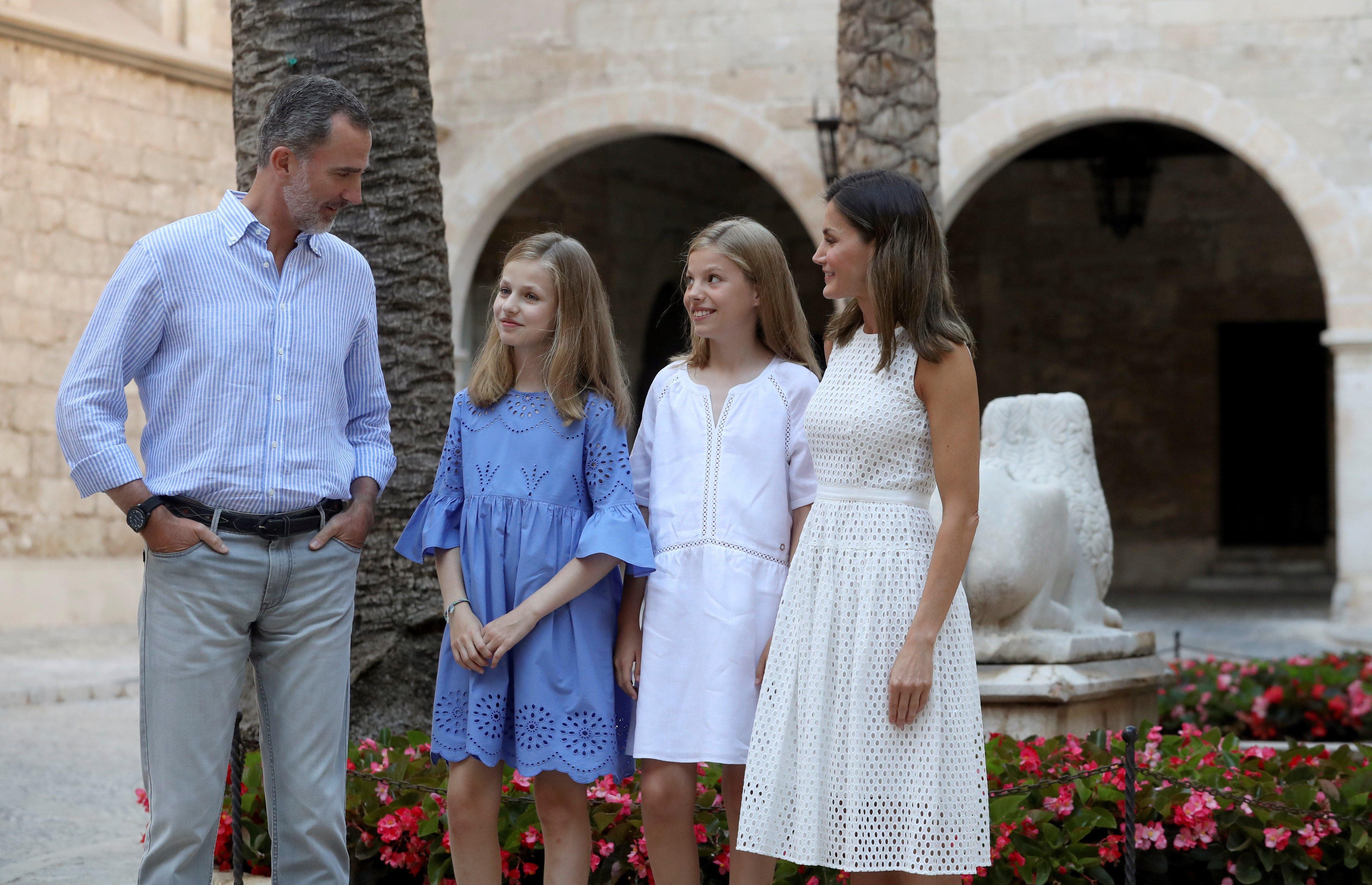 Las reinas sellan la paz en Mallorca