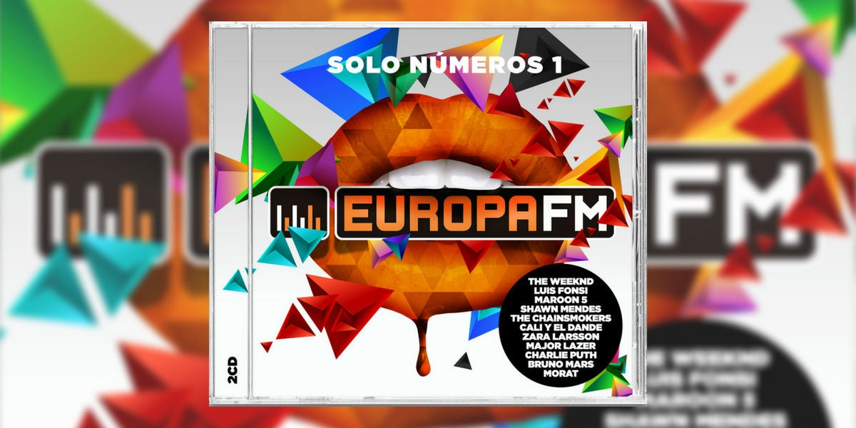 Portada del nuevo disco de Europa FM