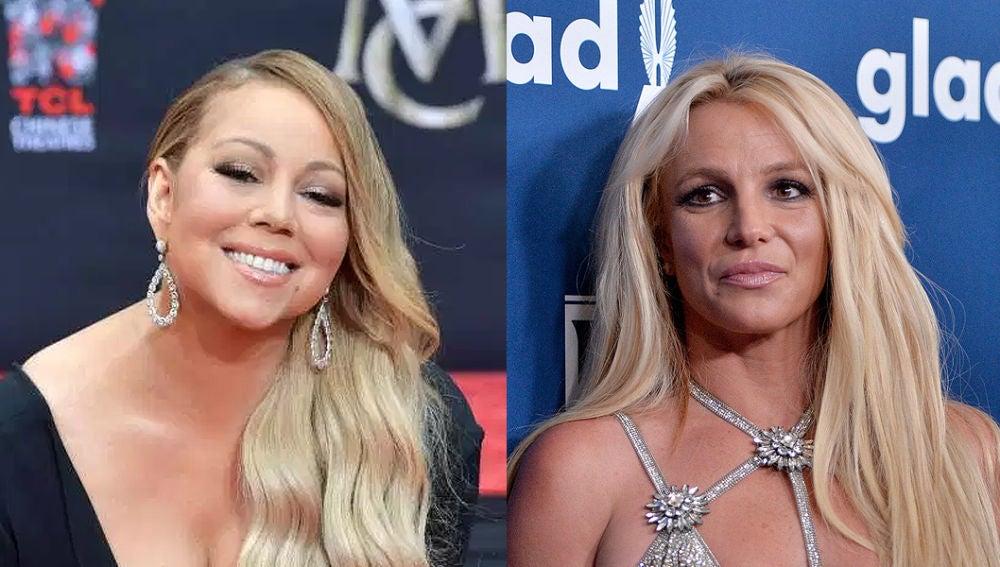 Mariah Carey y Britney Spears