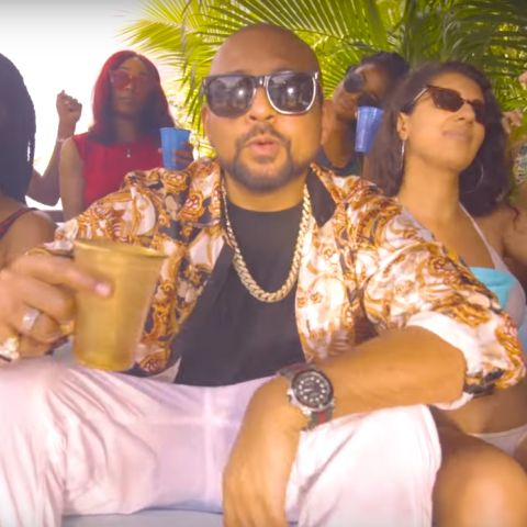 Sean Paul en el videoclip de 'House Party'