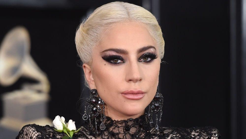 Lady Gaga en la gala de los Grammy 2018