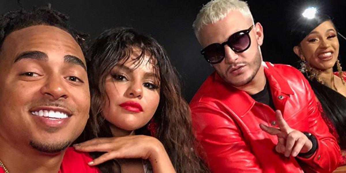 Selena Gomez, Cardi B, Ozuna y DJ Snake