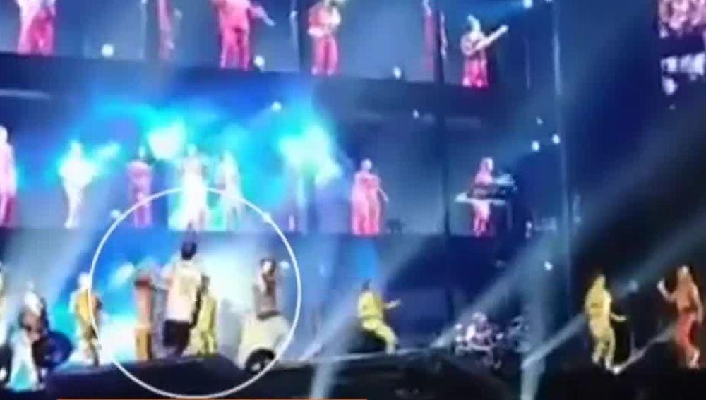 Incidente en un concierto de Beyoncé y Jay-Z