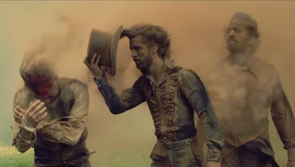Imagine Dragons en el vídeo Natural