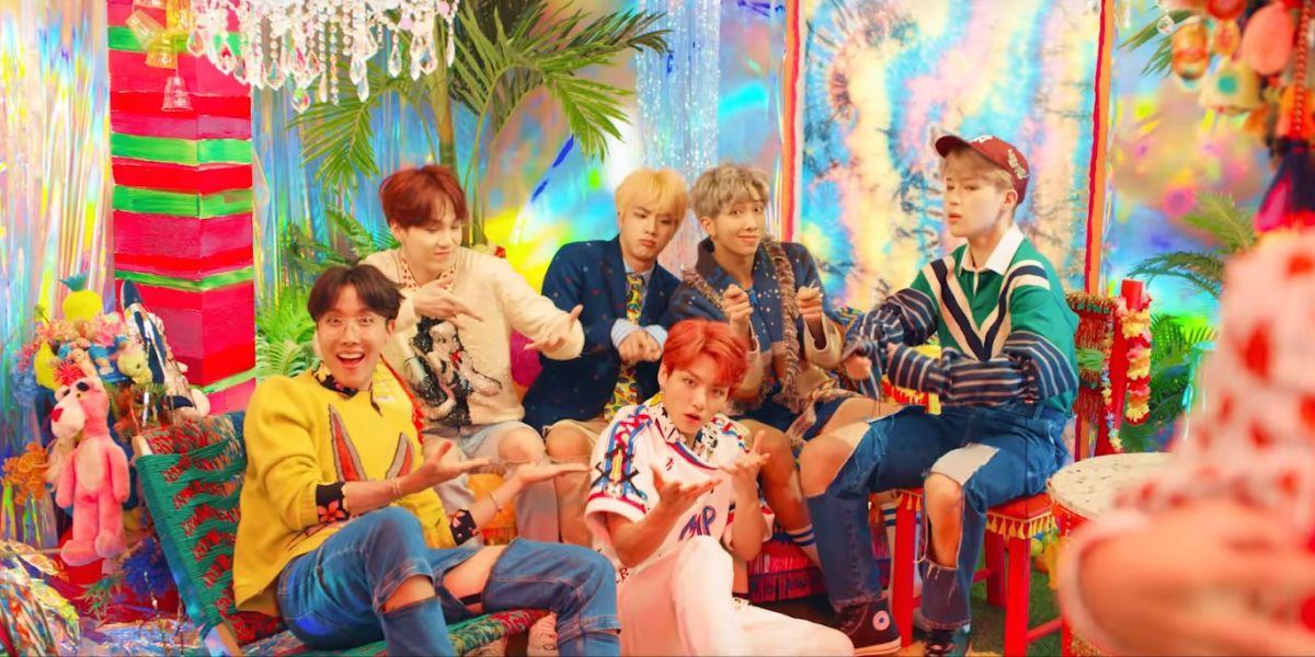 Videoclip 'Idol' de BTS