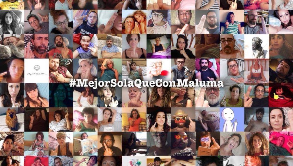 #MejorSolaQueConMaluma, la nueva campaña contra Maluma en la red