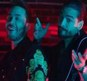 Prince Royce y Maluma en el videoclip 'El Clavo'