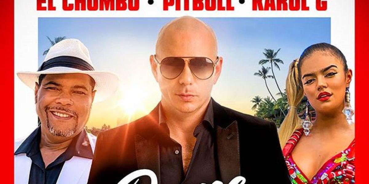 El Chombo, Pitbull y Karol G relanzan el éxito 'Dame tu cosita'