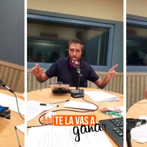 Frank Blanco interpreta canciones con un matasuegras en TLVAG