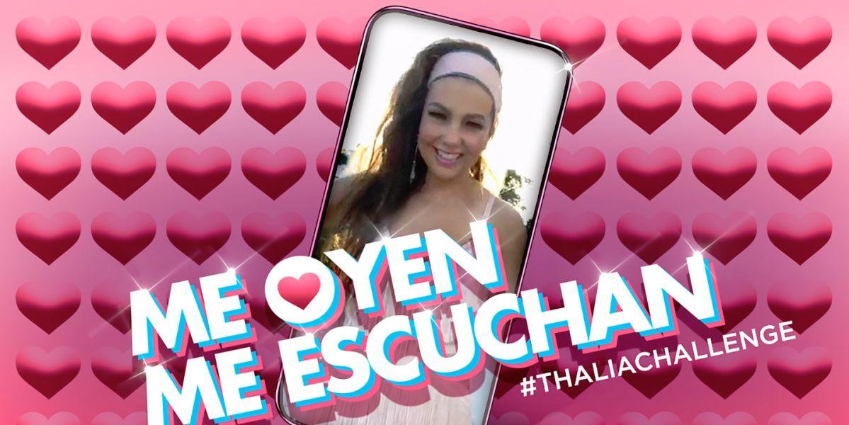 Thalía lanza el remix de 'Me oyen, me escuchan'