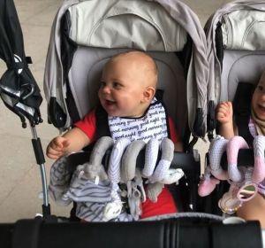 Nicholas y Lucy, los hijos de Enrique Iglesias y Anna Kournikova