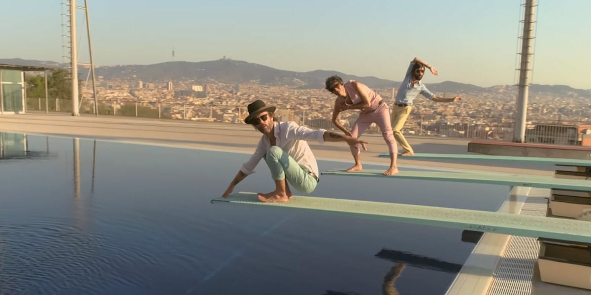 Sidonie en el videoclip de 'Maravilloso'