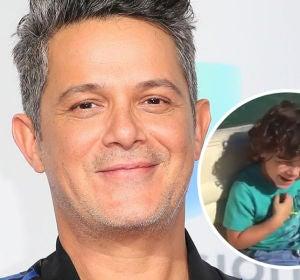 Alejandro Sanz comparte un vídeo de su hijo Dylan
