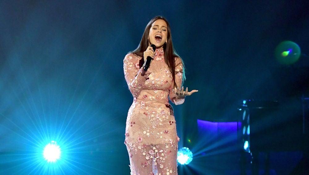 Rosalía en los Latin Grammys 2017