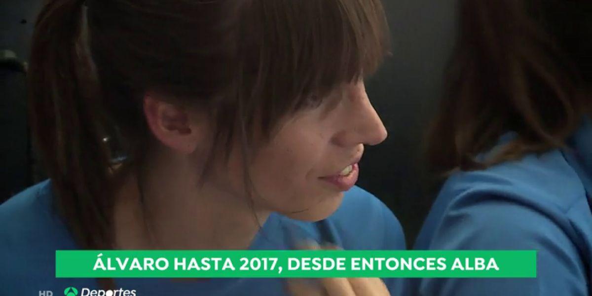 Alba Palacios, primera jugadora transgénero en el fútbol español