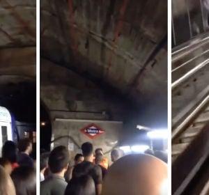 Desalojan el Metro por la explosión de un portátil