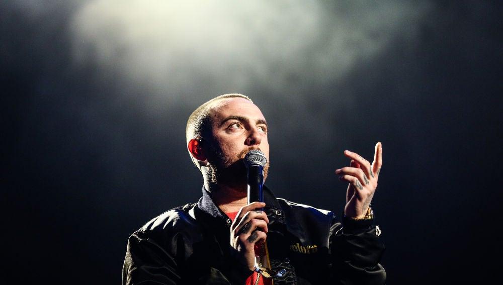 Mac Miller en concierto en 2017
