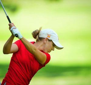 Celia Barquín, golfista española