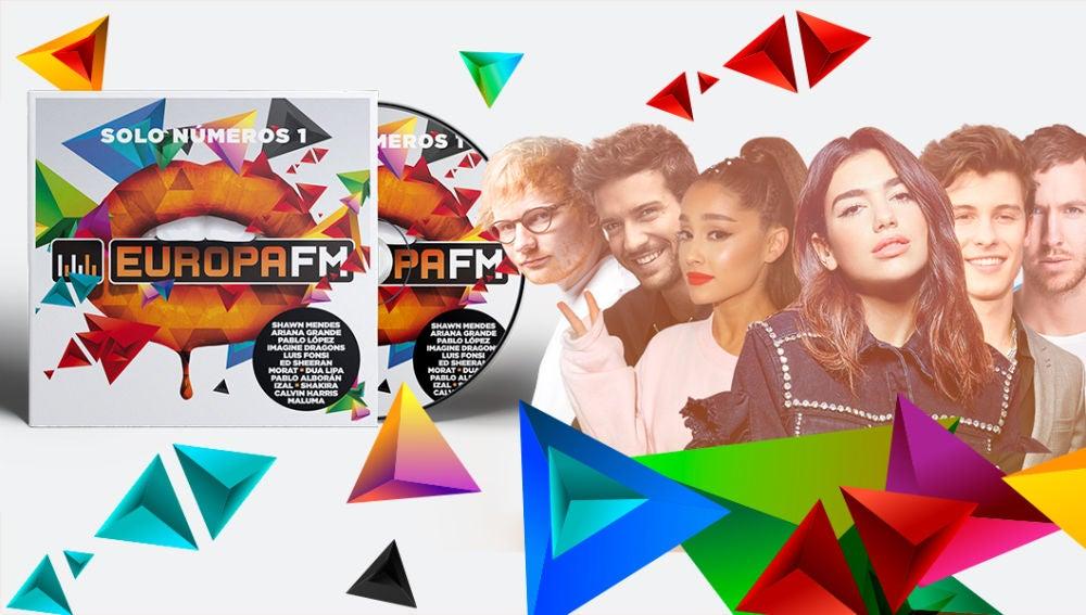 Europa FM, el disco 2018