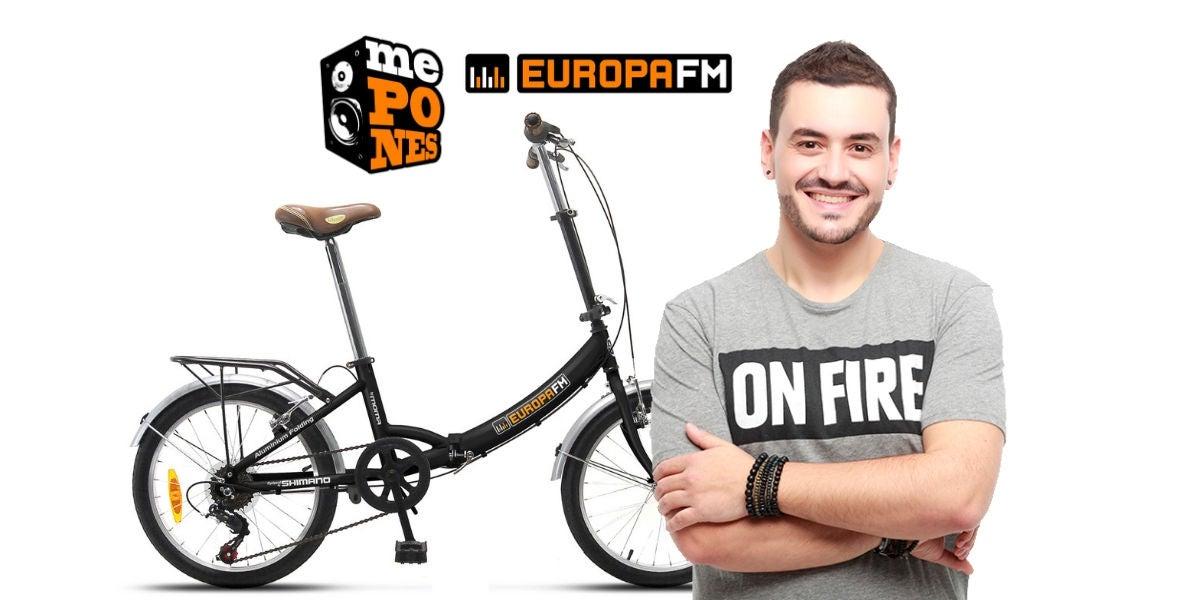 Consigue bicis urbanas de Europa FM con ¿Me Pones?