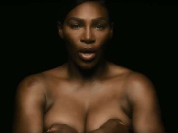 Serena Williams en el vídeo de I Touch Myself Project 2018