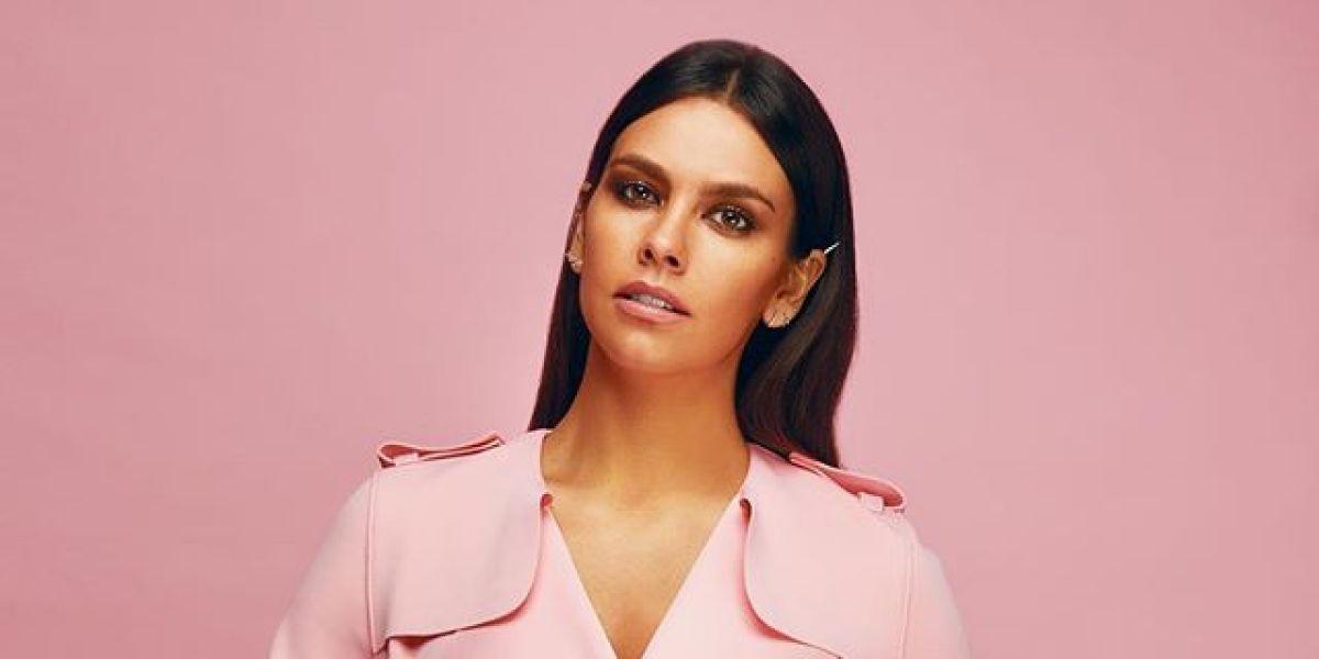 Cristina Pedroche con un look 'total pink'