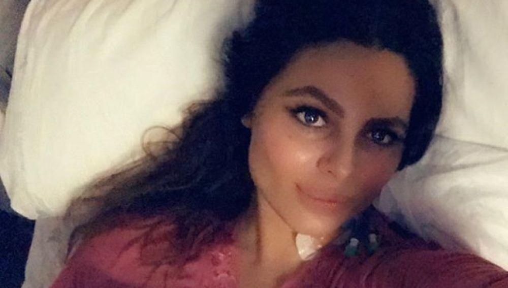 Marisa Jara se recupera de su operación después de que le hayan extirpado parte del colon