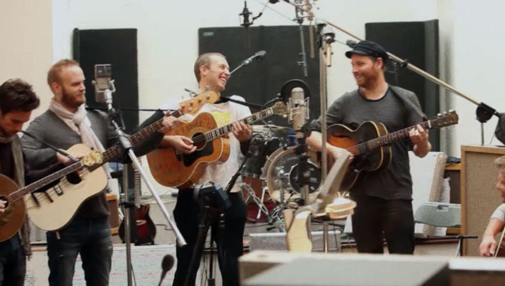 Una de las imágenes del tráiler de 'A Head Full Of Dreams', el documental de Coldplay