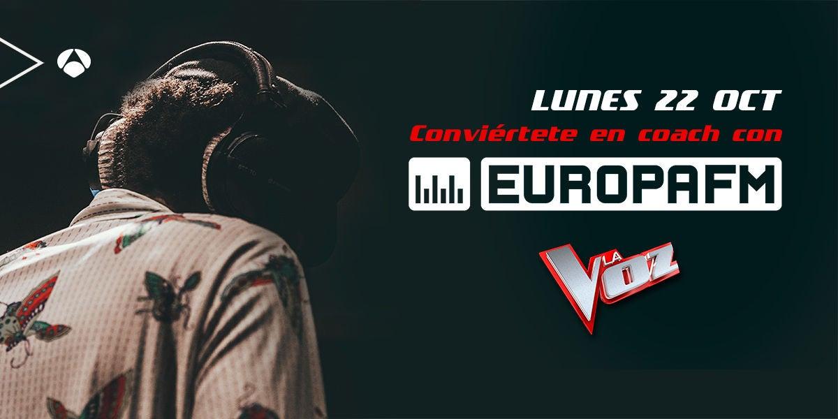 Demuestra tus dotes de coach de La Voz en Europa FM