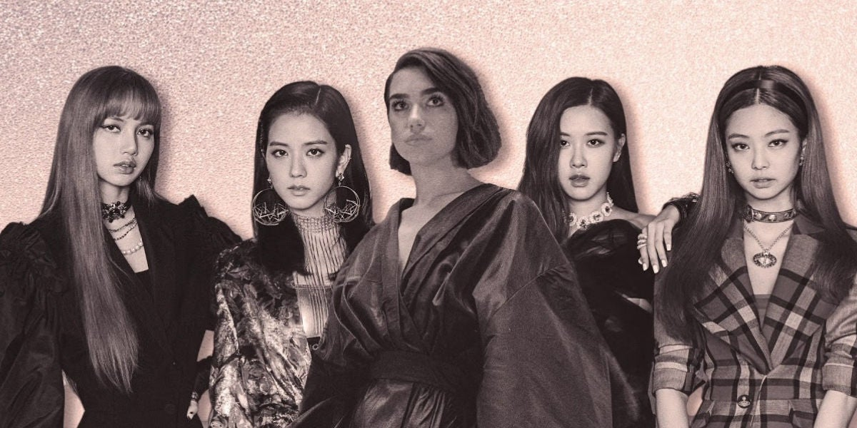 Dua Lipa lanza el tema 'Kiss and Make Up' junto a las coreanas BLACKPINK
