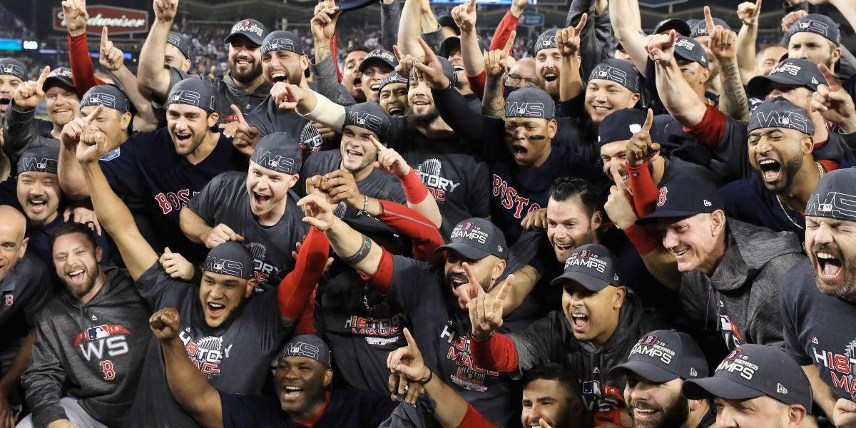El equipo de béisbol Boston Red Socks